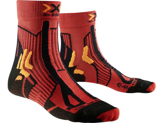 X-Socks Trail Run Energy Socks Men Paprika/Black